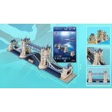 London Tower Bridge (3D Puzzle)