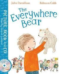 The Everywhere Bear (Livre + CD)