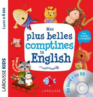 Mes plus belles comptines in English (livre + CD)