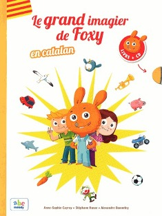 Le grand imagier de Foxy en catalan (livre + CD)