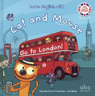 Cat and Mouse go to London (livre + CD)