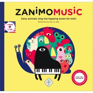 Zanimomusic (livre + CD)