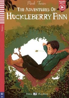 The Adventures of Huckleberry Finn  (livre + audio téléchargeable)