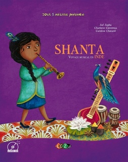 Shanta, voyage musical en Inde (Livre + CD Audio MP3)